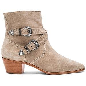 Frye Ellen Short Buckle Boot NEW Leather Sz 7